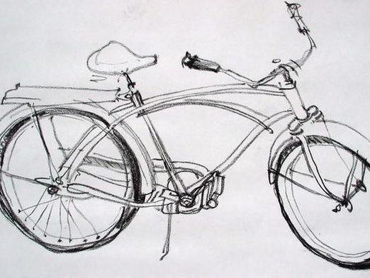 Как нарисовать велосипед?