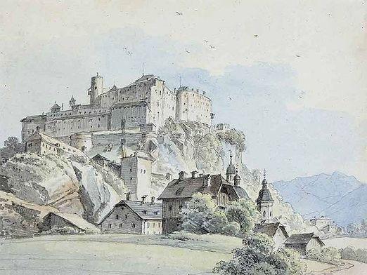 Как нарисовать замок?
