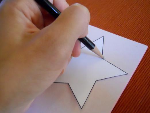 Как нарисовать звезду?