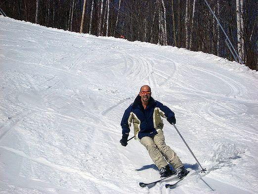 Как научиться кататься на лыжах?