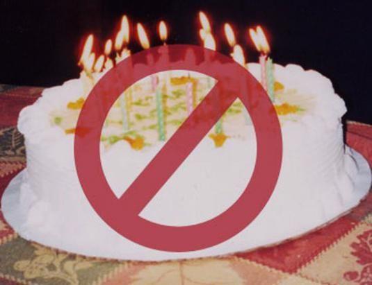 Как не отмечать день рождения?