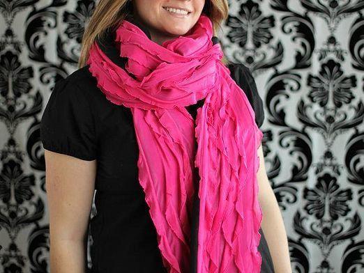 Как носить шарф?