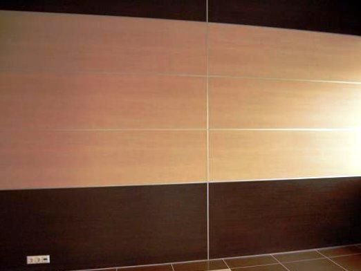 Как обшить панелями стены?
