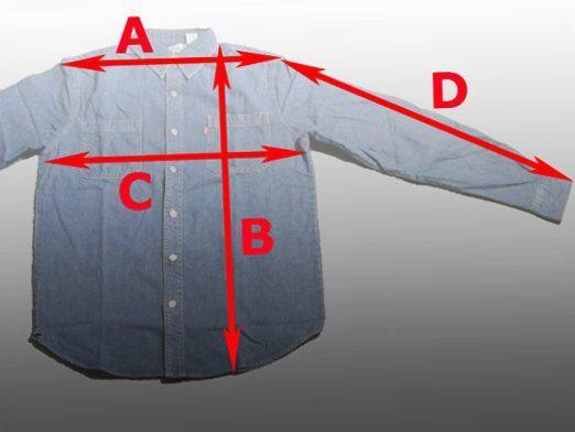 Как определить размер рубашки?