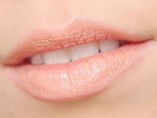 Как осветлить губы?