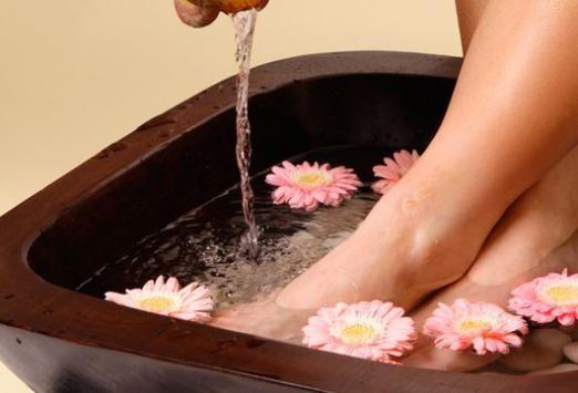 Как парить ноги?
