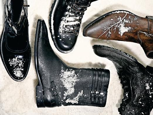 Як почистити черевики?