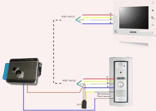 Как подключить видеодомофон?