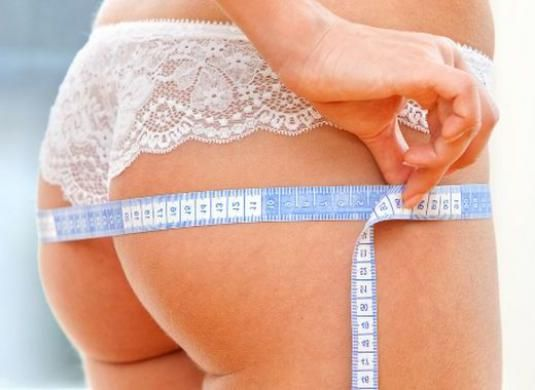 Как похудеть в ягодицах?