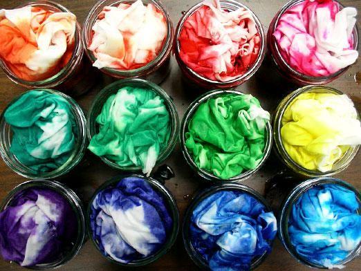 Як пофарбувати тканину?