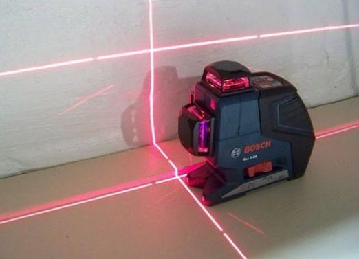 Как пользоваться лазерным уровнем?