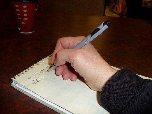 Как правильно держать ручку?