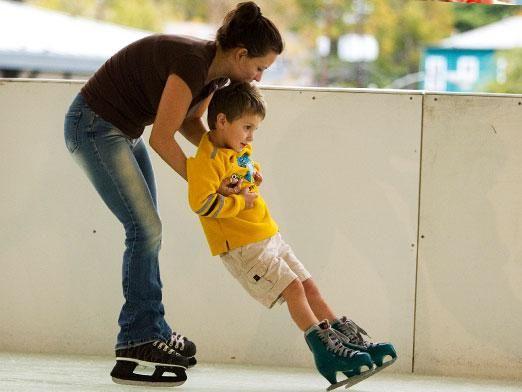Как правильно кататься на коньках?