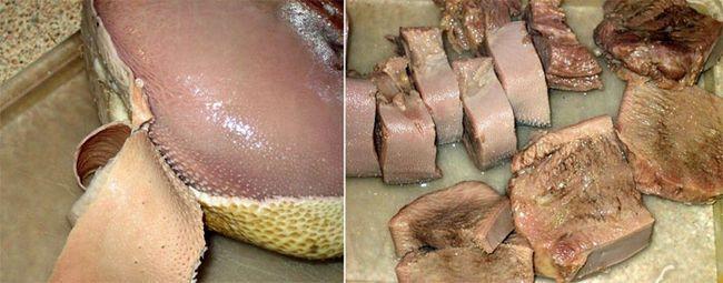 Очищення м'яса від шкури