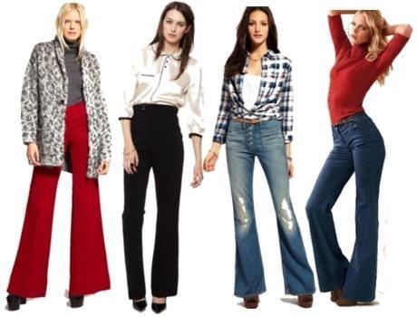 з чим носити джинси із завищеною талією