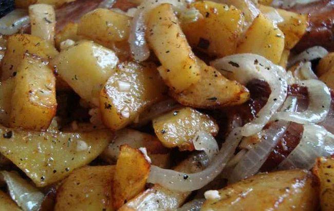 Свиняче картопляне рагу по-баварськи