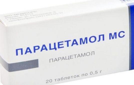 Как принимать парацетамол?