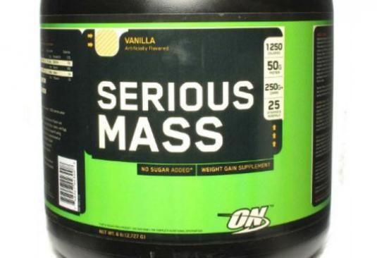 Как принимать serious mass?