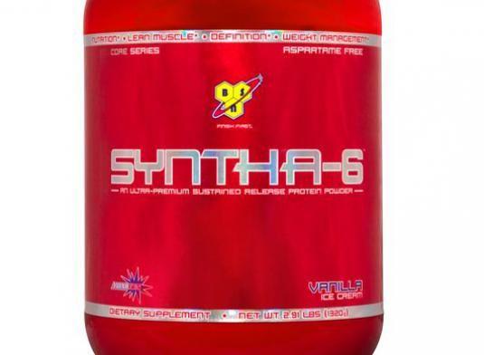 Как принимать syntha 6?