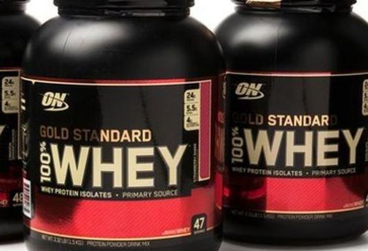 Как принимать whey gold standard?