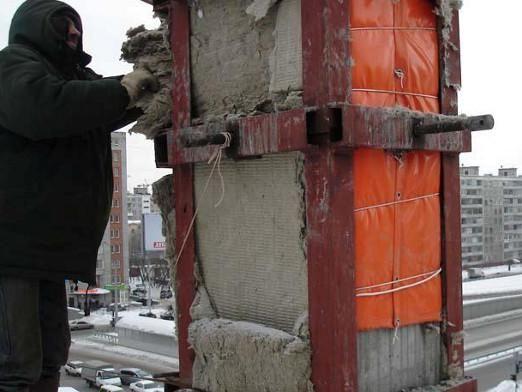 Как прогреть бетон?
