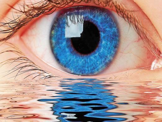 Как промыть глаз?