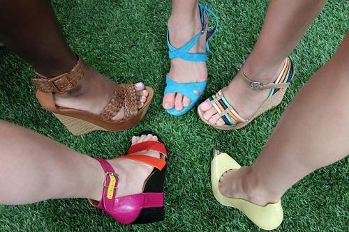 як розносити нове взуття