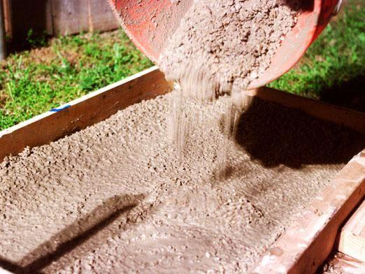 Как разводить цемент?