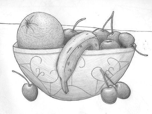 Как рисовать фрукты?