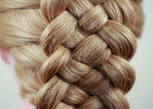 Как самой заплести волосы?