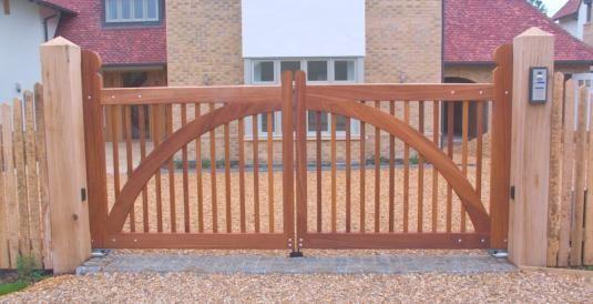Как самому сделать ворота?