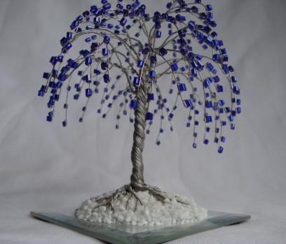 дерево з бісеру гліцинія