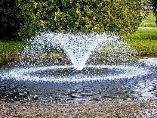 Как сделать фонтан?