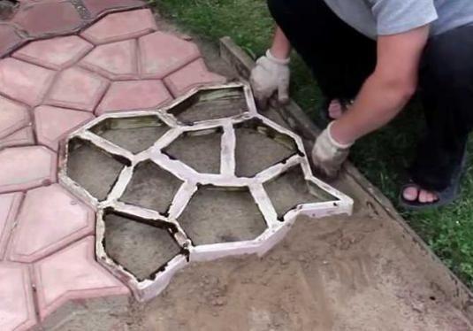 Как сделать форму для плитки?