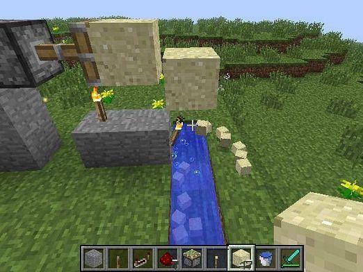 Как сделать генератор песка?