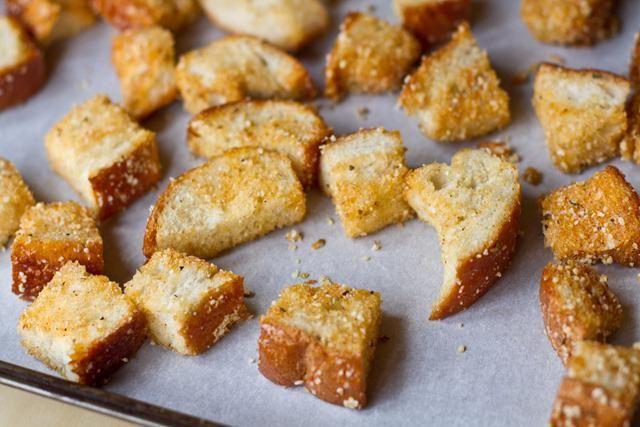 як зробити грінки з хліба