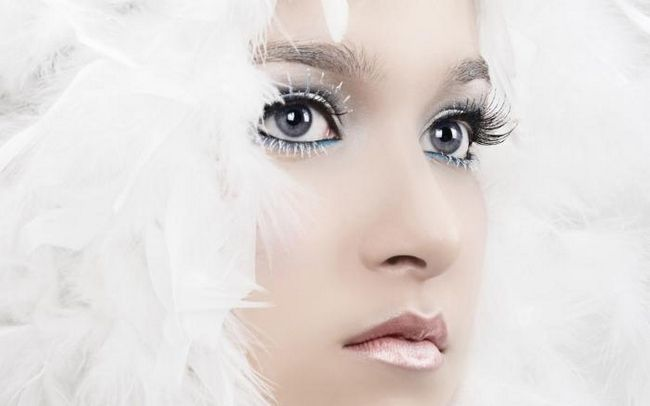 макіяж димчасті очі