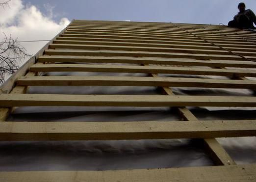 Как сделать крышу?