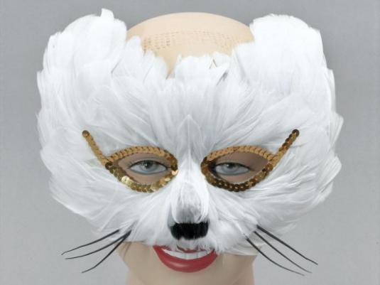 Как сделать маску кошки?