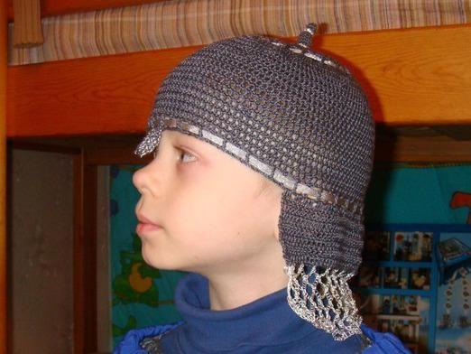 Как сделать шлем богатыря?