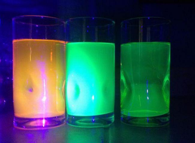 як зробити світиться воду