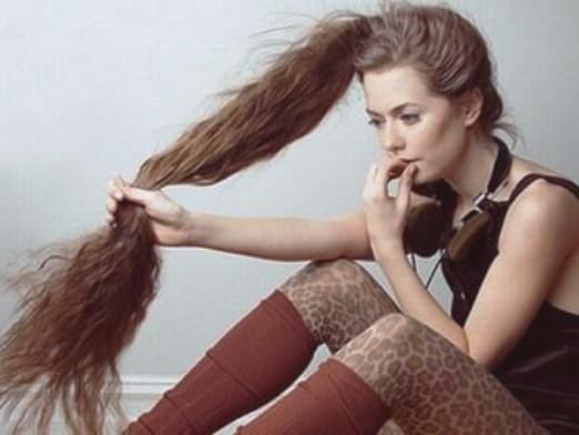 Как сделать волосы тонкими?