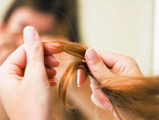 Как секутся волосы?
