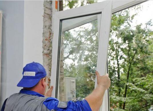 Как снять пластиковое окно?