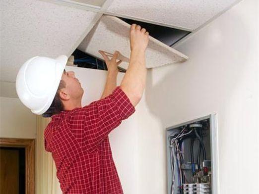 Как снять потолок?