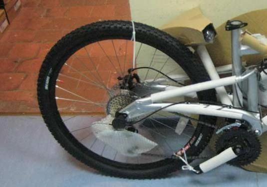 Как собрать колесо?