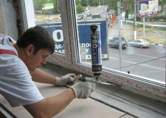 Как собрать окно?