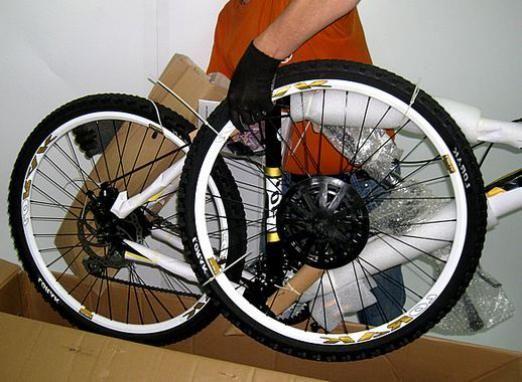 Как собрать велосипед?