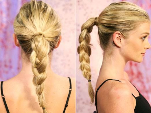 Как собрать волосы красиво?