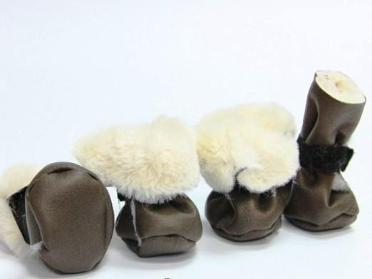 Как сшить обувь для собаки?